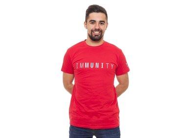 Tričko pánské červené imMUNIty