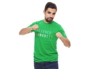 Tričko pánské zelené Science