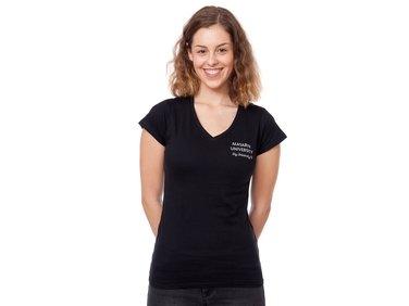 Tričko Absolvent - dámské černá