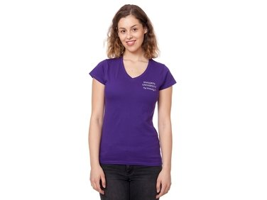 Tričko Absolvent - dámské fialová