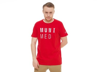 Men´s t-shirt MUNI MED red