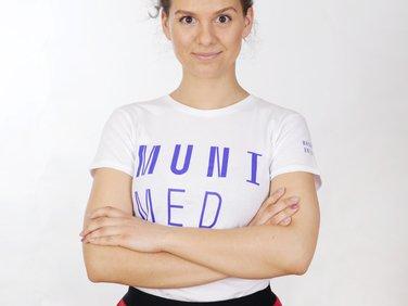Women´s t-shirt MUNI MED white