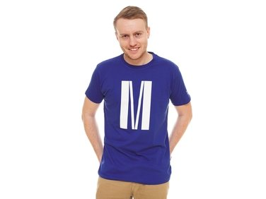 Men´s blue M  T-shirt
