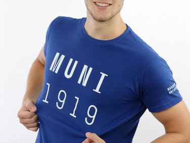 Men´s t-shirt MUNI 1919 blue
