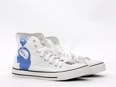 Ankle sneakers white