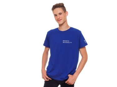 Men's  T-shirt,blue MU