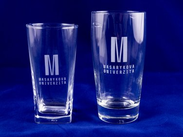 Glass with M 0,3 L