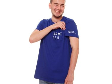 Men's T-shirt PED,modré