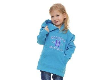 Children hoodie ´1919´ turquoise