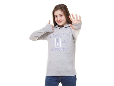 Hoodie junior light grey ´1919´