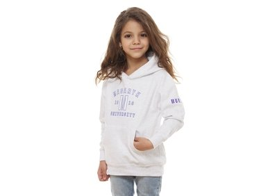 Children hoodie ´1919´ light grey