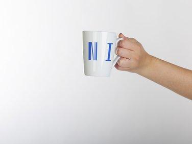 White mug MUNI
