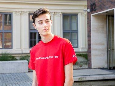 Tričko pánské červené