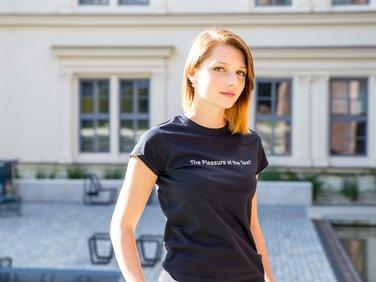 Tričko dámské černé