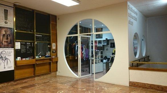 University shop Scalanterie