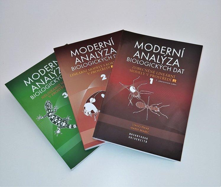 Moderní analýza biologických dat - komplet 3 díly