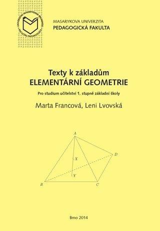 Texty k základům elementární geometrie