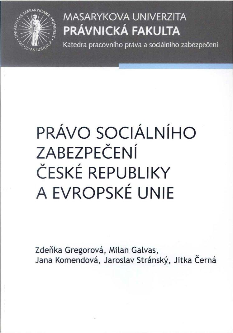 Právo sociálního zabezpečení České republiky a Evropské unie