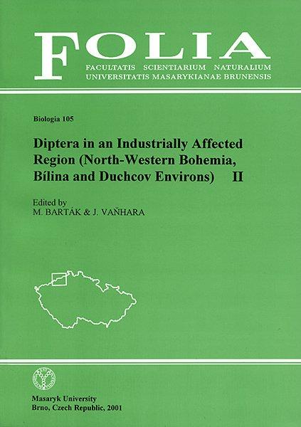 Diptera in an Industrially Affected Region (North-Western Bohemia, Bílina and Duchcov Environs) II