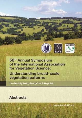 58th Annual Symposium of the International Association for Vegetation Science