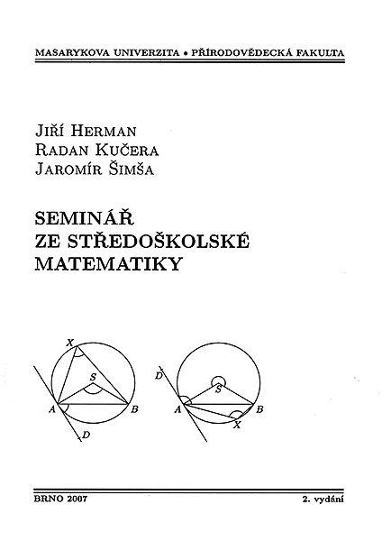 Seminář ze středoškolské matematiky