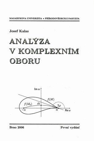 Analýza v komplexním oboru