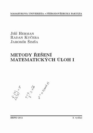 Metody řešení matematických úloh I
