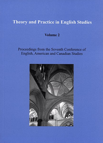 Theory and Practice in English Studies, Volume 2