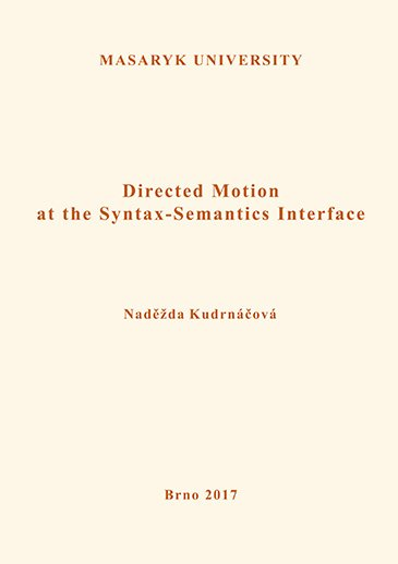 Directed Motion at the Syntax-Semantics Interface