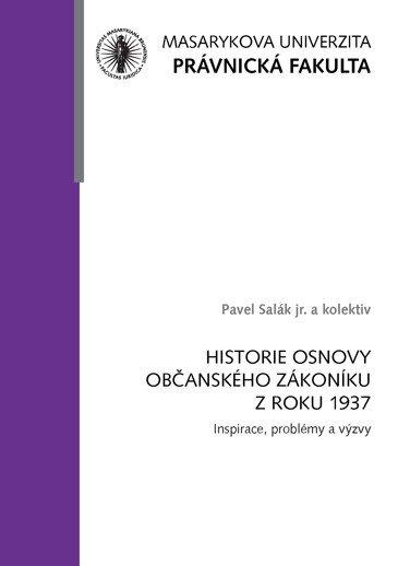 Historie osnovy Občanského zákoníku z roku 1937