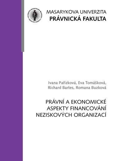 Právní a ekonomické aspekty financování neziskových organizací
