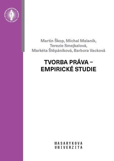 Tvorba práva – empirické studie