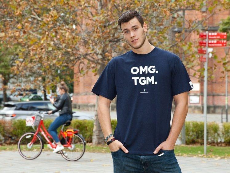 Tričko TGM, OMG, pánské, modrá
