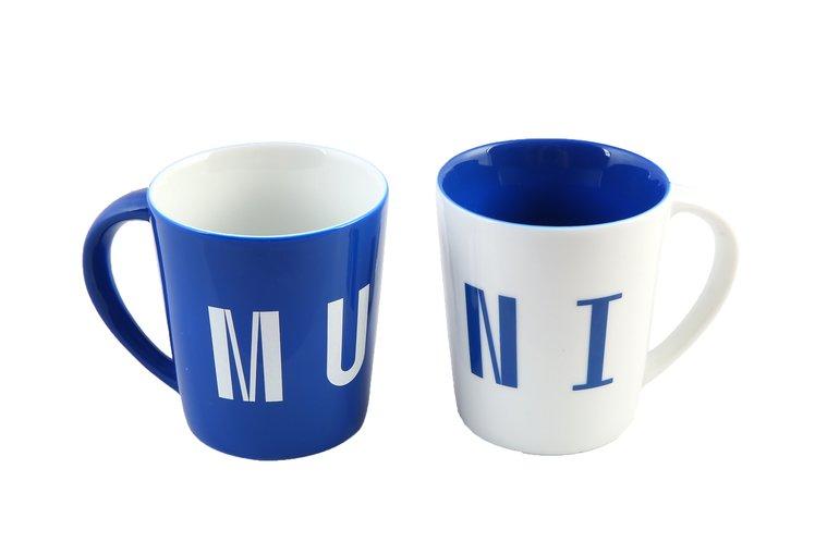 Hrnek MUNI modrý