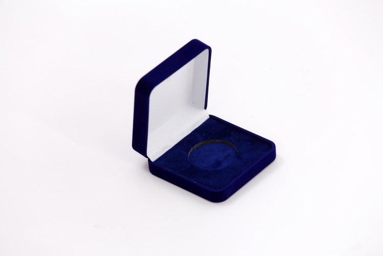 Krabička sametová na medaile