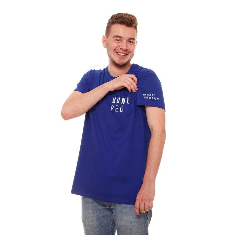 Men's T-shirt PED,modré