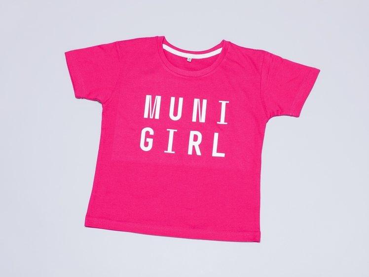 T-shirt MUNI GIRL