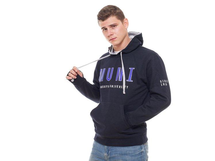 MUNI hoodie, navy blue