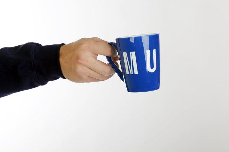 Blue mug MUNI