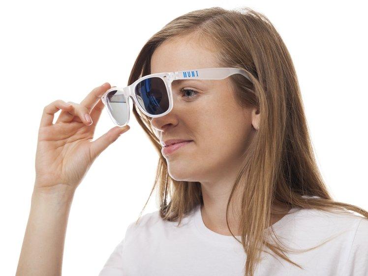 Sluneční brýle bílé