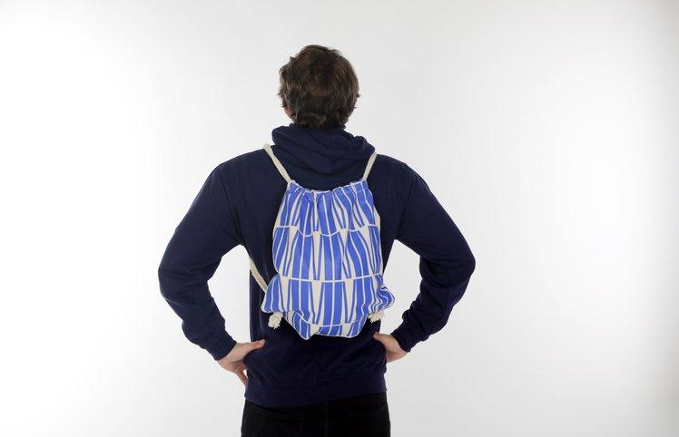 Stahovací  batoh - design M