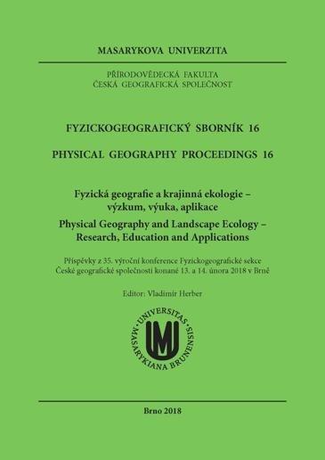Fyzickogeografický sborník 16
