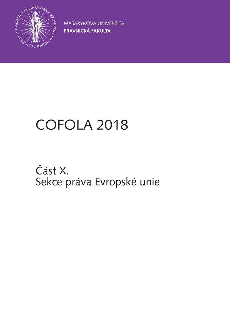 COFOLA 2018
