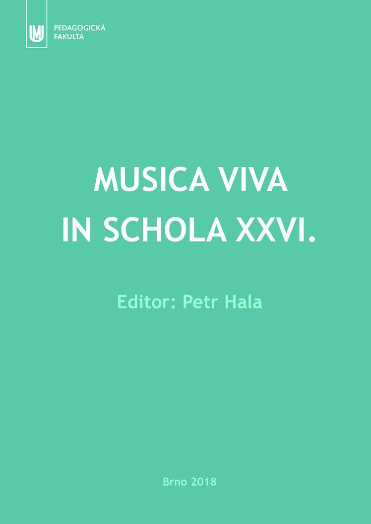 Musica viva in schola XXVI.