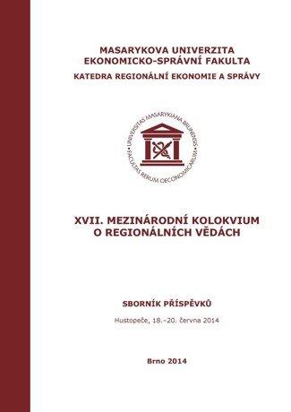 XVII. Mezinárodní kolokvium o regionálních vědách
