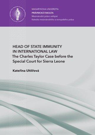 Head of State Immunity in International Law