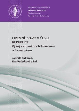 Firemní právo v České republice