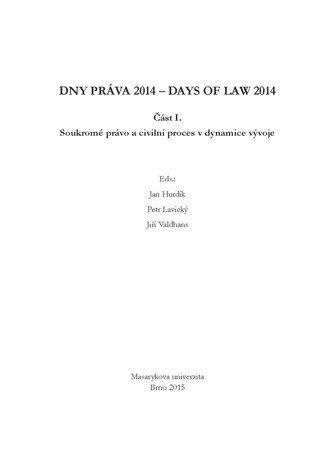 Dny práva 2014