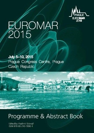 EUROMAR 2015. Programme and Abstract Book