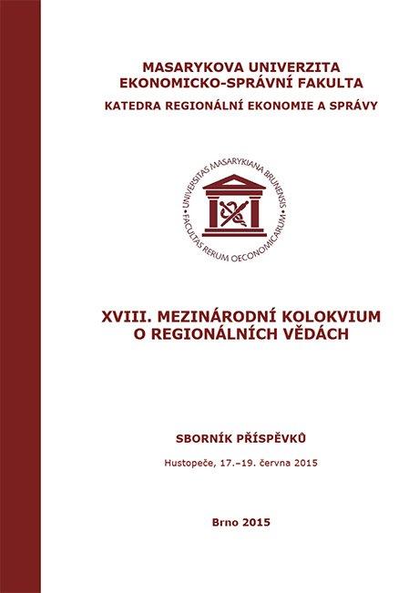 XVIII. mezinárodní kolokvium o regionálních vědách